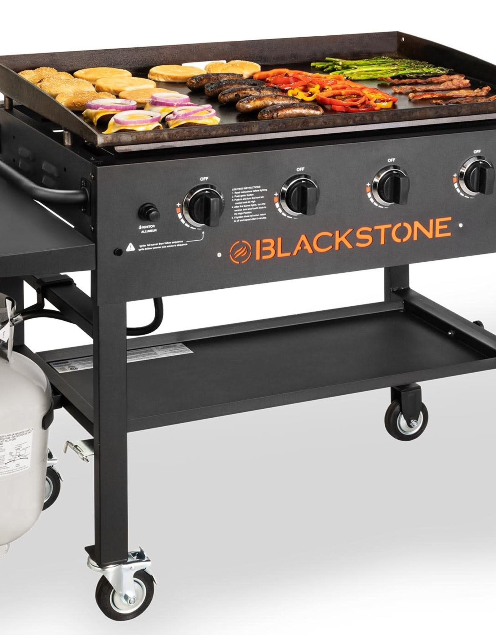 "Blackstone Blackstone 36"" 4 Burner Griddle Cooking Station, 60K BTUs 1554"