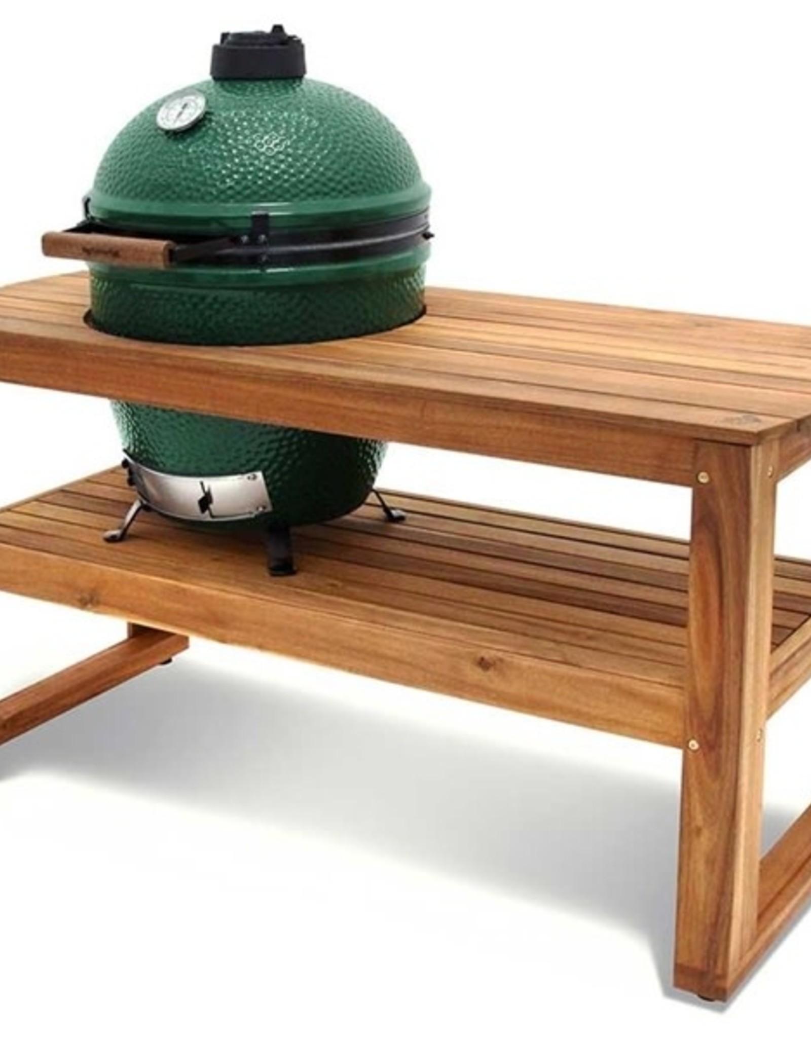 Big Green Egg Big Green Egg - Solid Acacia Hardwood Table for Large EGG 60 L x 25 W x 31 H