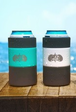Toadfish Toadfish Non-Tipping Can Cooler - White (+Adapter)