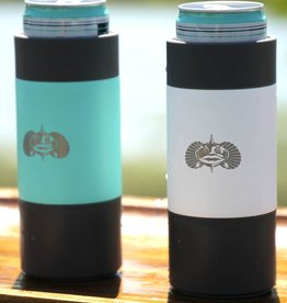 Toadfish Toadfish Non-Tipping Slim Can Cooler - White