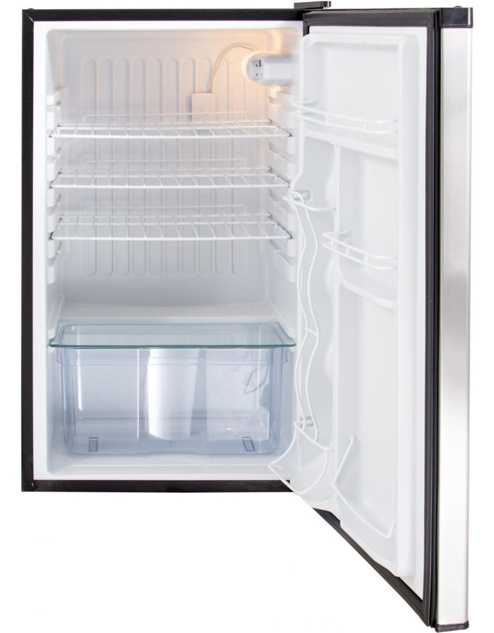 Blaze Outdoor Products Blaze 20.5-Inch 4.5 Cubic Ft. Compact Refrigerator With Recessed Handle - BLZ-SSRF130