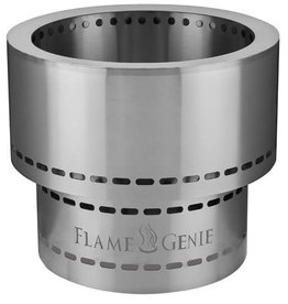 "Flame Genie Flame Genie Inferno 19"" Wood Pellet Fire Pit FG-19-SS"
