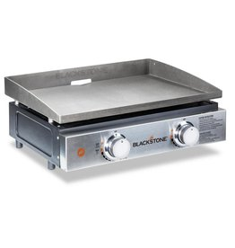 "Blackstone Blackstone 22"" Tabletop Griddle Stainless Steel Front Plate with Cover - 1840"