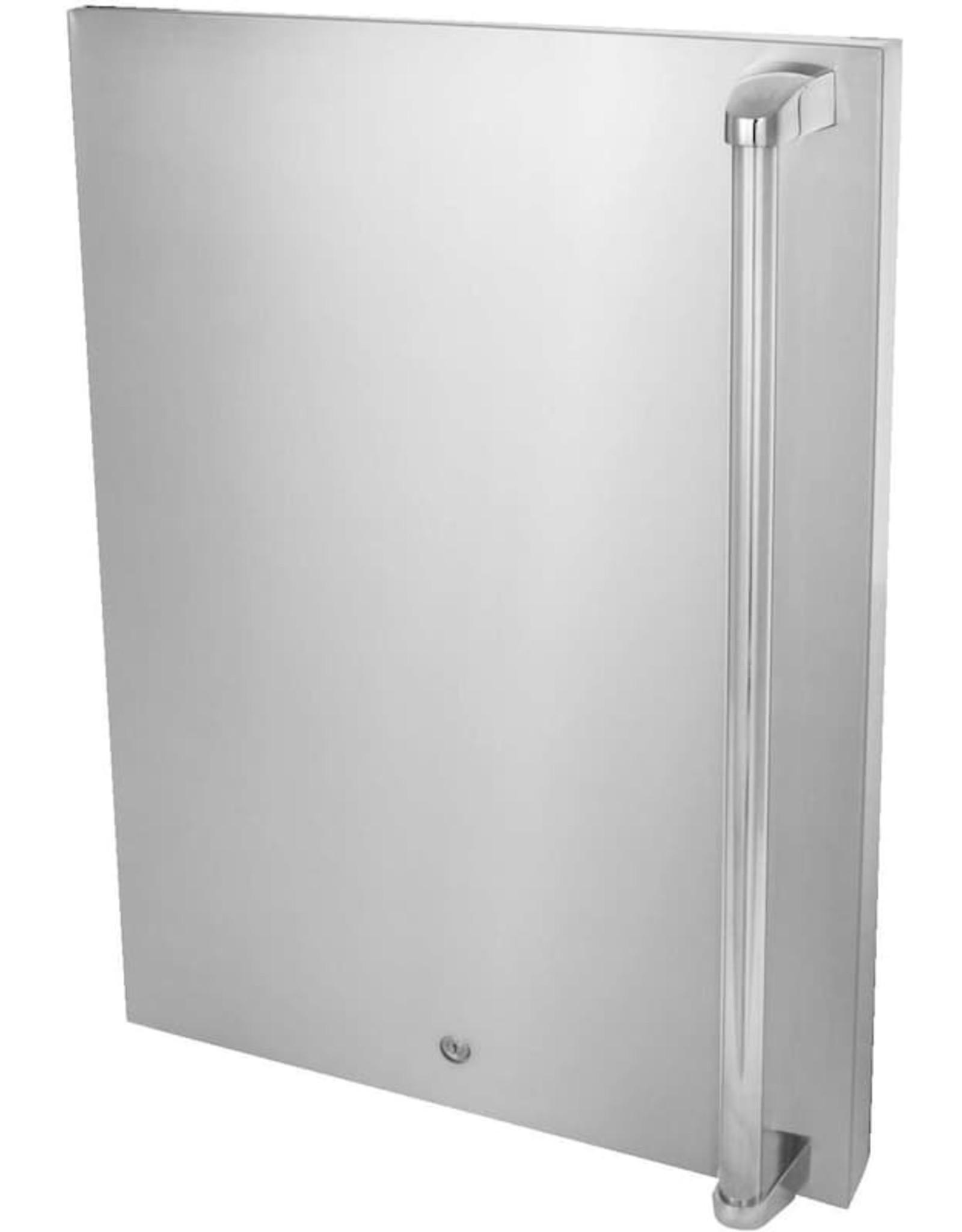 Blaze Outdoor Products Blaze Left Hinge Stainless Door Upgrade For Blaze BLZ-SSRF130 4.5 Cu. Ft. Refrigerator - BLZ-SSFP-4.5LH