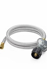 Blackstone Blackstone Braided Stainless Steel Propane Adapter Hose with Regulator 5154