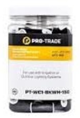 Pro-Trade Black/White Waterproof Connectors #22-#12 AWG QTY: 150