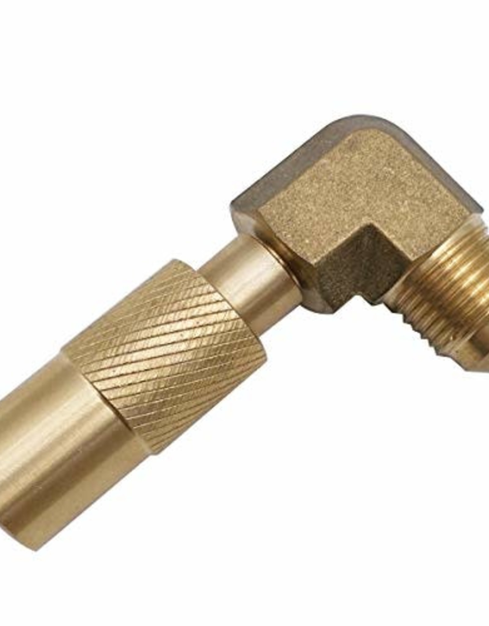 """MENSI MENSI Propane Elbow Adapter with 3/8"""" Male Flare Connect.  For Blackstone"""