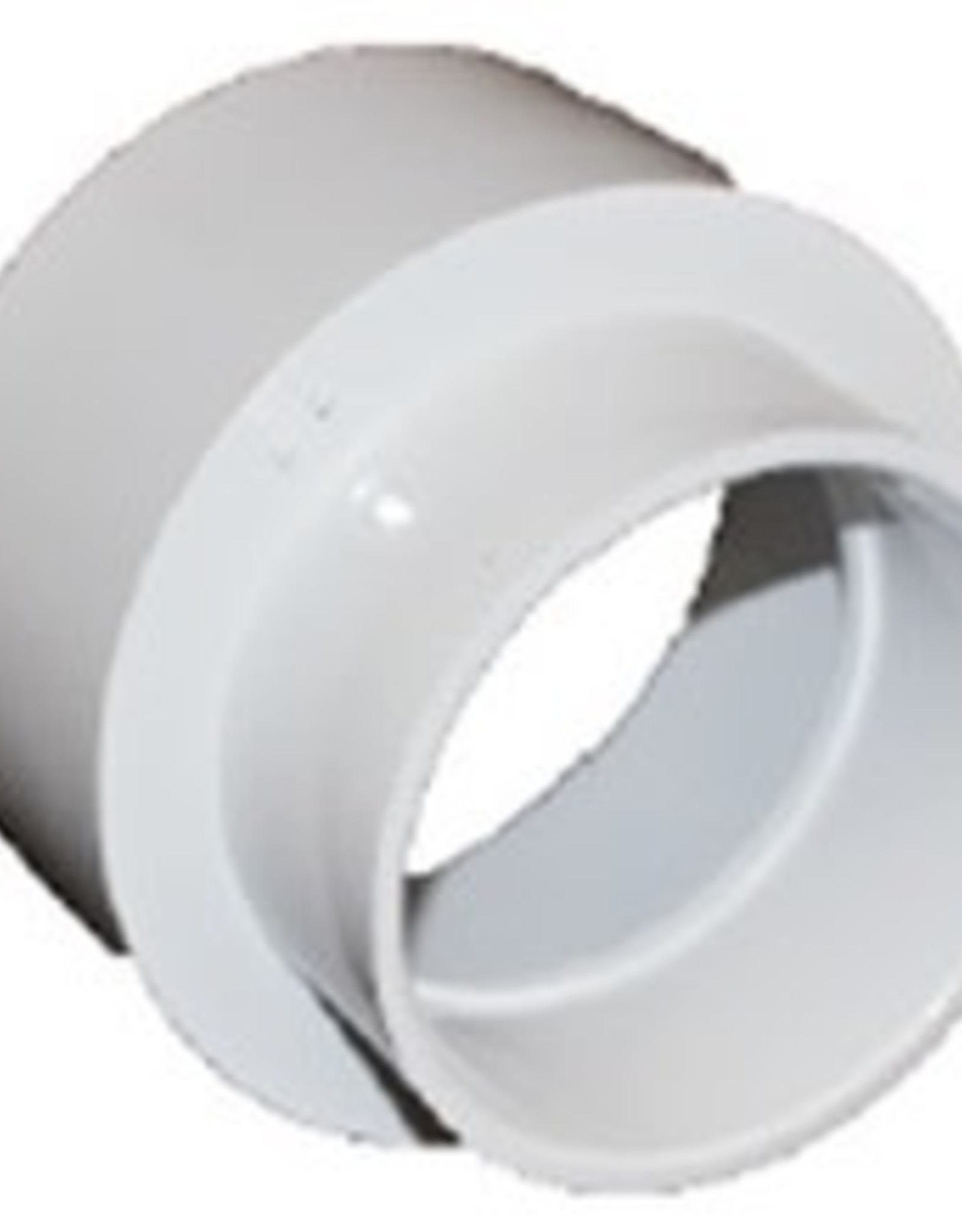 "NDS Drainage PVC 6""x4"" Reducing Coupling HubxHub"