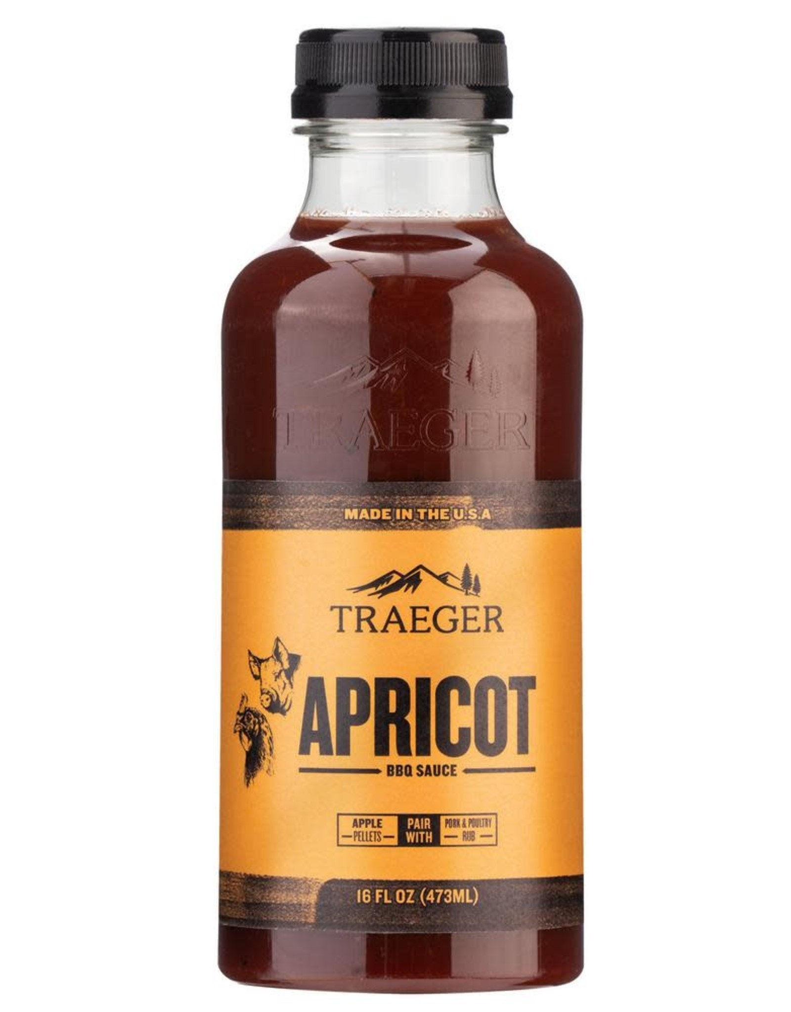 Traeger Traeger Apricot BBQ Sauce - SAU036