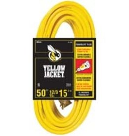 Yellow Jacket Yellow Jacket 50 ft Extension Cord 12/3