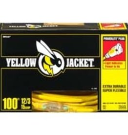 Yellow Jacket Yellow Jacket 100ft Extension Cord 12/3
