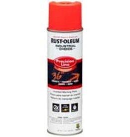 Rust-Oleum Rust-Oleum Inverted Marking Paint Fluorescent Red-Orange 17oz