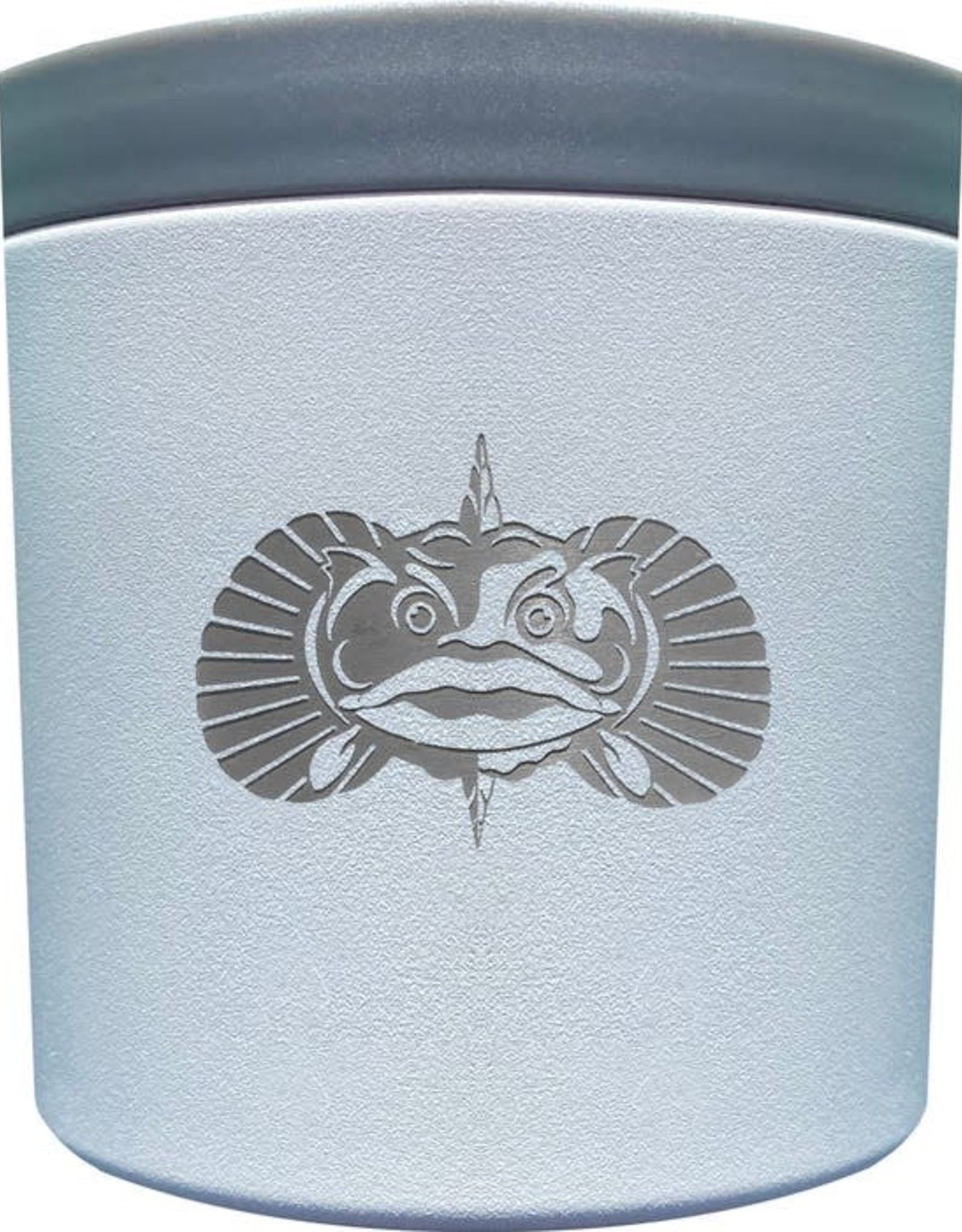 Toadfish Toadfish Anchor Non-Tipping Any Beverage Holder - White