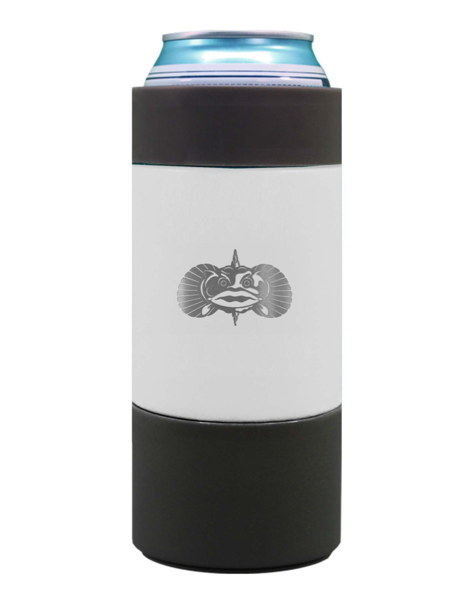 Toadfish Toadfish Non-Tipping 16 oz Can Cooler - White