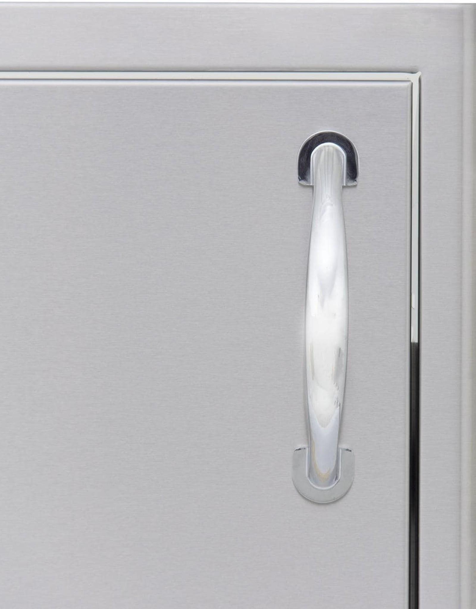 Blaze Outdoor Products Blaze 21-Inch Left Hinged Stainless Steel Single Access Door - Vertical - BLZ-SINGLE-2417-R-LH