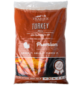Traeger Traeger 20 Lb. Turkey Blend Pellets with Brine Kit - PEL329
