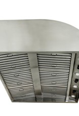 Blaze Outdoor Products Blaze 42-Inch Stainless Steel Outdoor Vent Hood - 2000 CFM - BLZ-42-VHOOD