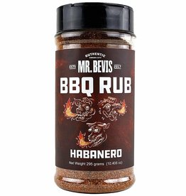 Mr. Bevis Mr. Bevis BBQ RUB Habanero 10.406 oz