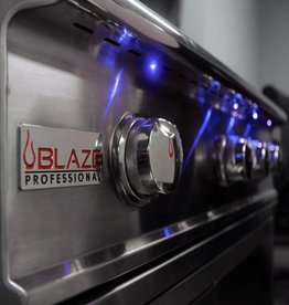 Blaze Outdoor Products Blaze Blue LED 3 Piece Set for Power Burner, Griddle, Double Side Burner - BLZ-2LED-BLUE