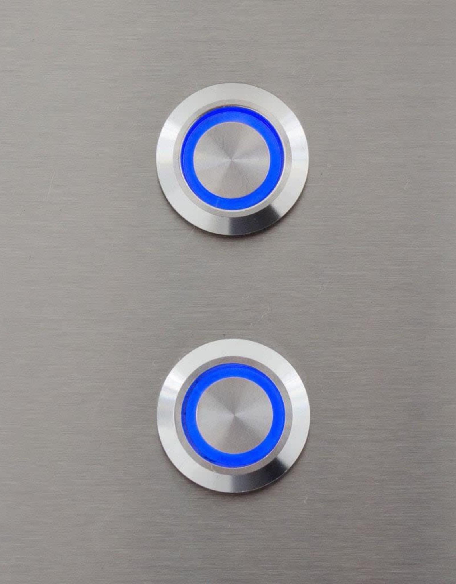 Blaze Outdoor Products Blaze Blue LED 3 Piece Set for Power Burner, Griddle, Double Side Burner - BLZ-2LED-BLUE