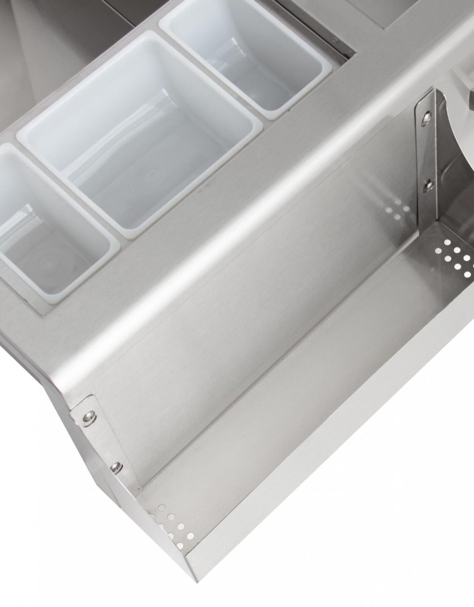 Blaze Outdoor Products Blaze 30-Inch Beverage Center With Sink & Ice Bin Cooler - BLZ-30CKT-SNK