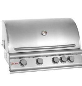 Blaze Outdoor Products Blaze Prelude LBM 32-Inch 4-Burner Built-In Propane Gas Grill - BLZ-4LBM-LP