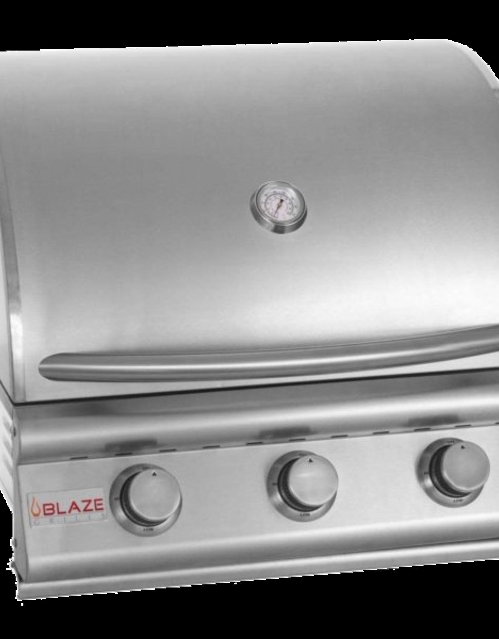 Blaze Outdoor Products Blaze Prelude LBM 25-Inch 3-Burner Built-In Propane Gas Grill - BLZ-3LBM-LP