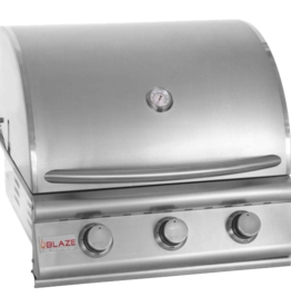 Blaze Outdoor Products Blaze Prelude LBM 25-Inch 3-Burner Built-In Natural Gas Grill - BLZ-3LBM-NG