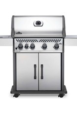 Napoleon Napoleon Rogue XT 525 SIB Propane Gas Grill with Infrared Side Burner - Stainless Steel - RXT525SIBPSS-1