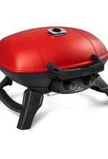 Napoleon Napoleon TravelQ 285 Portable Propane Gas Grill with Griddle - Red - TQ285-RD-1-A