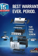 Napoleon Napoleon Rogue XT 425 SIB Natural Gas Grill with Infrared Side Burner - Stainless Steel - RXT425SIBNSS-1