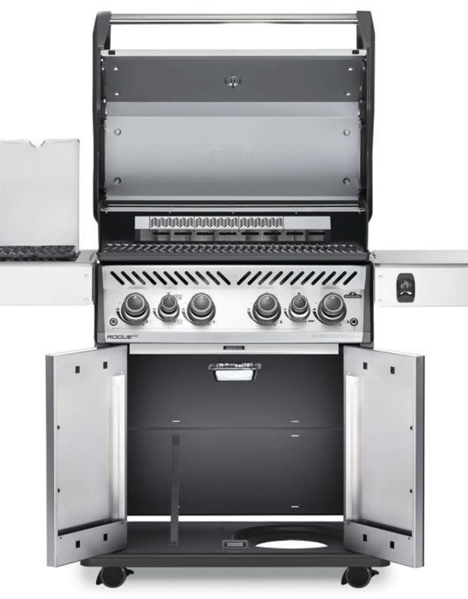 Napoleon Napoleon Rogue SE 525 RSIB Propane Gas Grill with Infrared Rear & Side Burners - Stainless Steel - RSE525RSIBPSS-1
