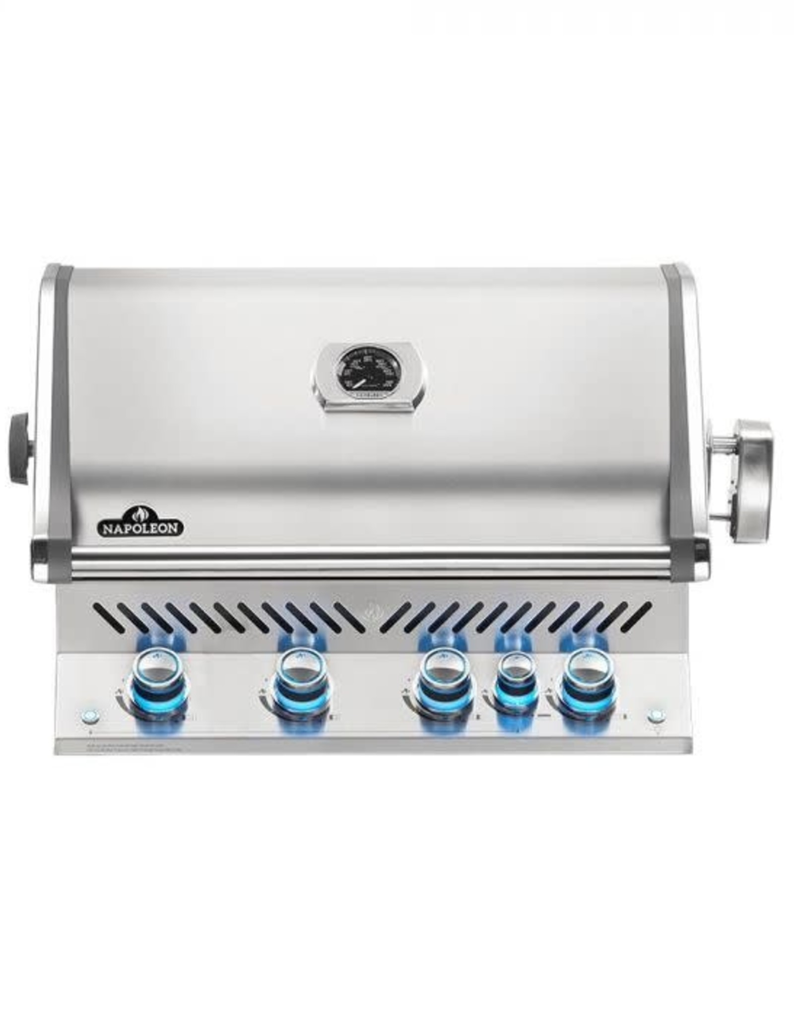 Napoleon Napoleon Prestige PRO 500 Built-in Natural Gas Grill with Infrared Rear Burner and Rotisserie Kit - BIPRO500RBNSS-3