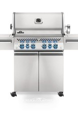 Napoleon Napoleon Prestige PRO 500 Propane Grill with Infrared Rear and Side Burners and Rotisserie Kit - PRO500RSIBPSS-3