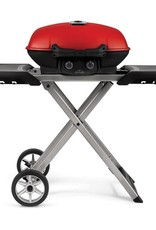 Napoleon Napoleon TravelQ 285X Portable Freestanding Propane Gas Grill With Griddle - Red - TQ285X-RD-1-A