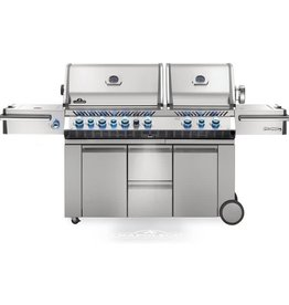 Napoleon Napoleon Prestige PRO 825 Natural Gas Grill with Infrared Rear Burner, Double Infrared Sear Burner & Side Burner and Rotisserie Kit - PRO825RSBINSS-3