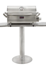 "Blaze Outdoor Products Blaze 17"" Stainless Steel Pedestal for Professional Portable Grill - BLZ-PRTPED-17"