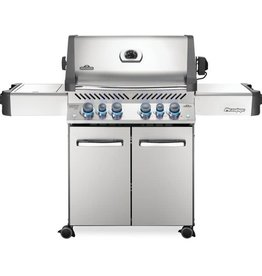 Napoleon Napoleon Prestige 500 Natural Gas Grill with Infrared Rear Burner and Infrared Side Burner and Rotisserie Kit - P500RSIBNSS-3