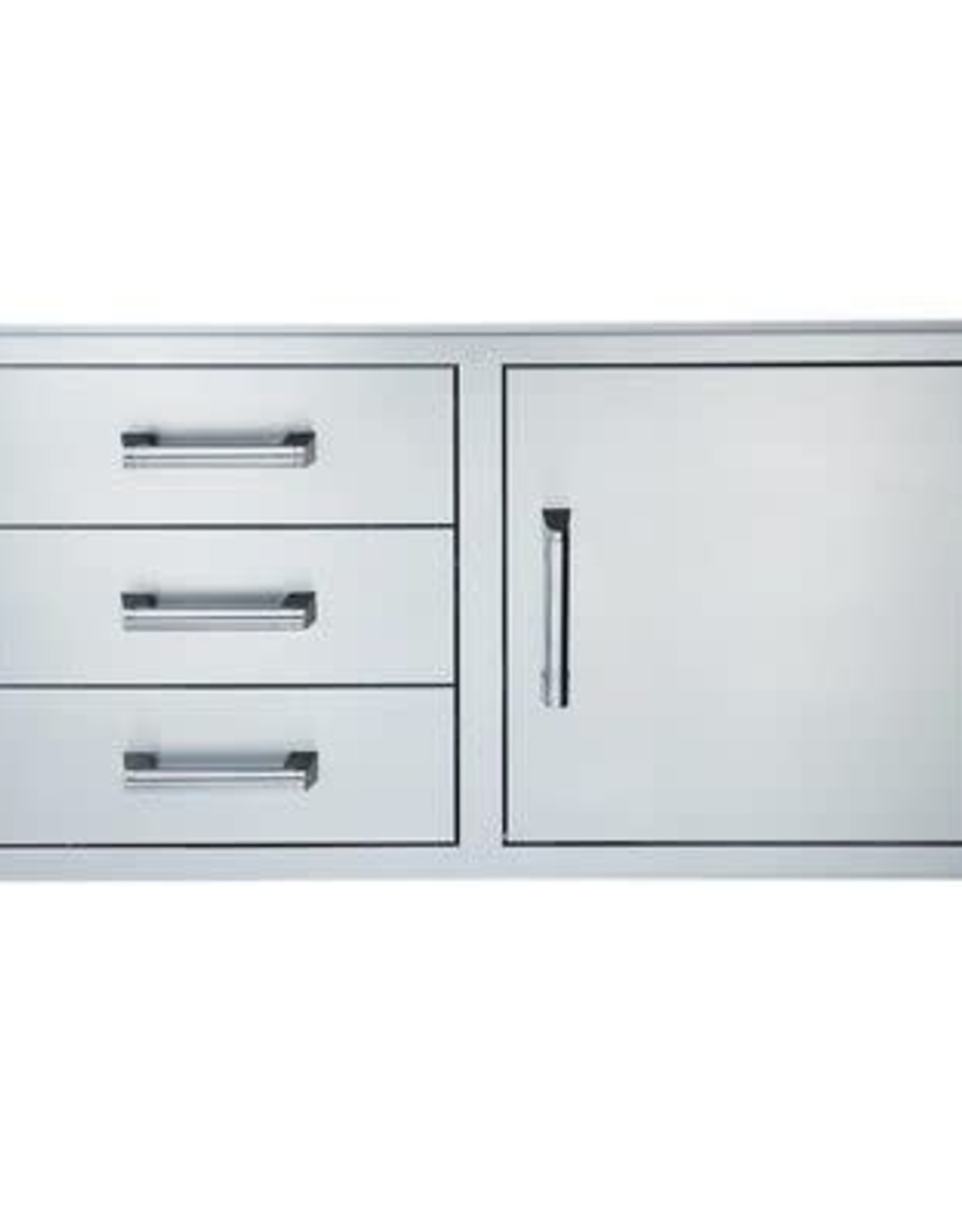 Broilmaster Broilmaster 42-Inch Single Door with Triple Drawer for BSG424N Gas Grill - BSAW4222ST