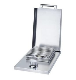 "Broilmaster Broilmaster 12"" Drop-In Single Side Burner - NG - BSAF12DN"
