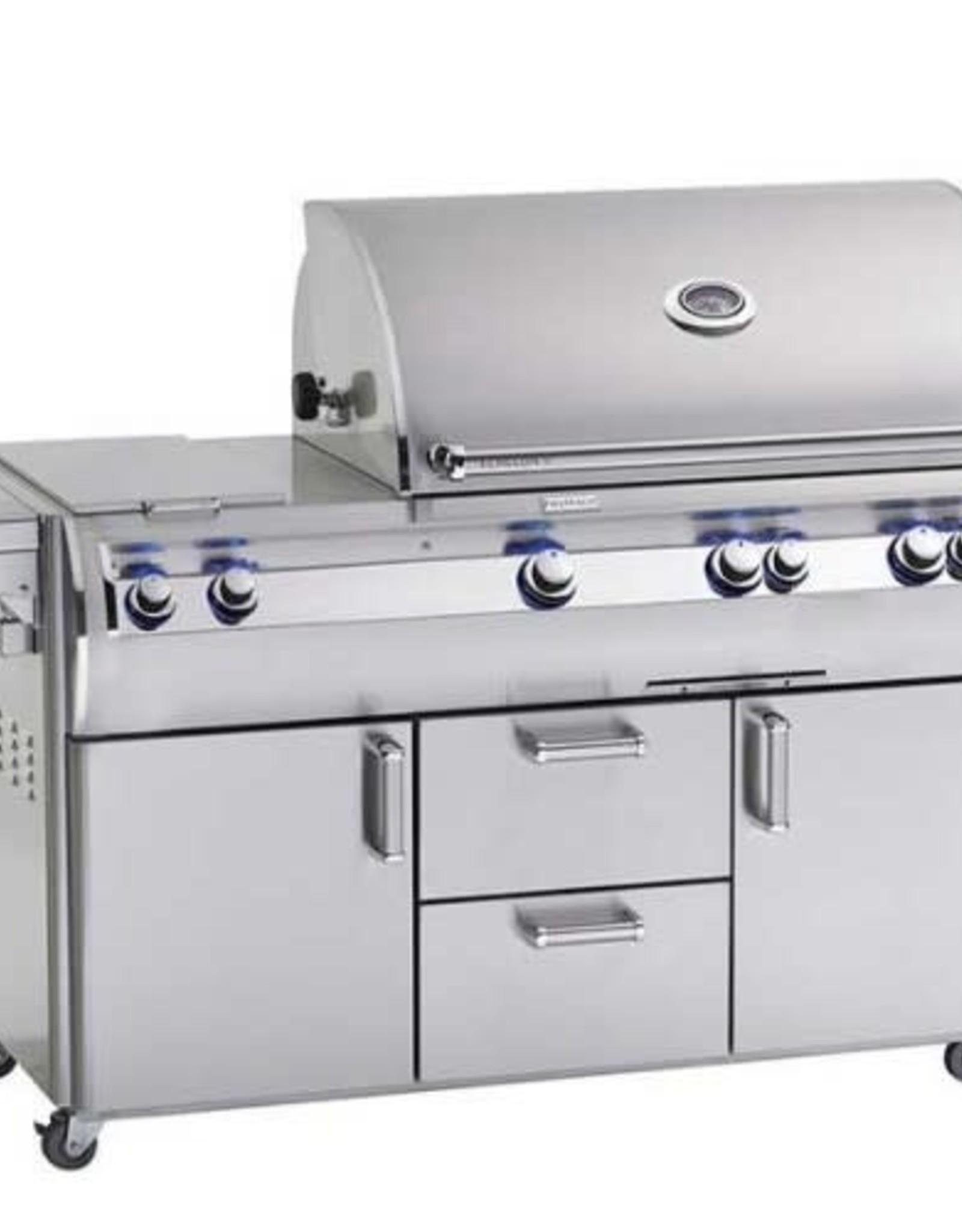 Fire Magic Fire Magic Echelon Diamond E790s 36-inch Cabinet Cart Grill with Double Side Burner (Analog)