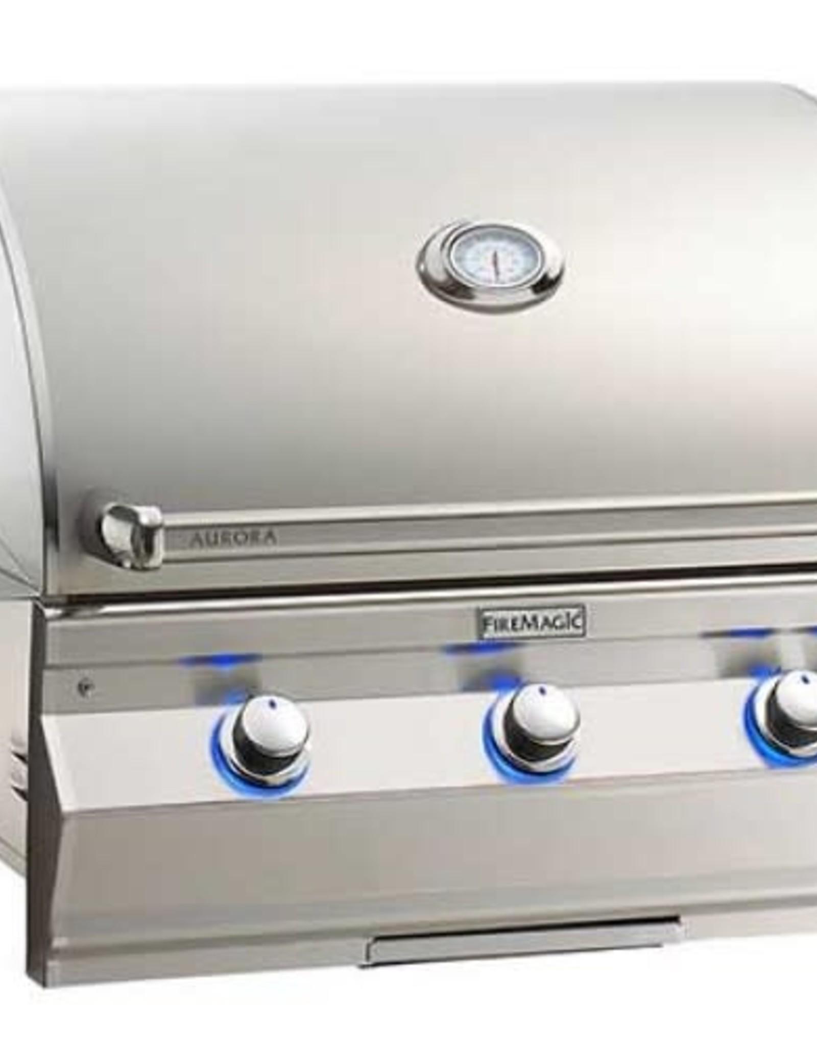 Fire Magic Fire Magic - Aurora A660i 30-inch Built-In Grill With Rotisserie