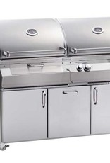 Fire Magic Fire Magic - Aurora A830s 46-inch Portable Gas and Charcoal Combo Grill Without Rotisserie