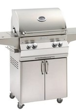 Fire Magic Fire Magic - Aurora A430s 24-inch Portable Grill With Single Side Burner Without Rotisserie