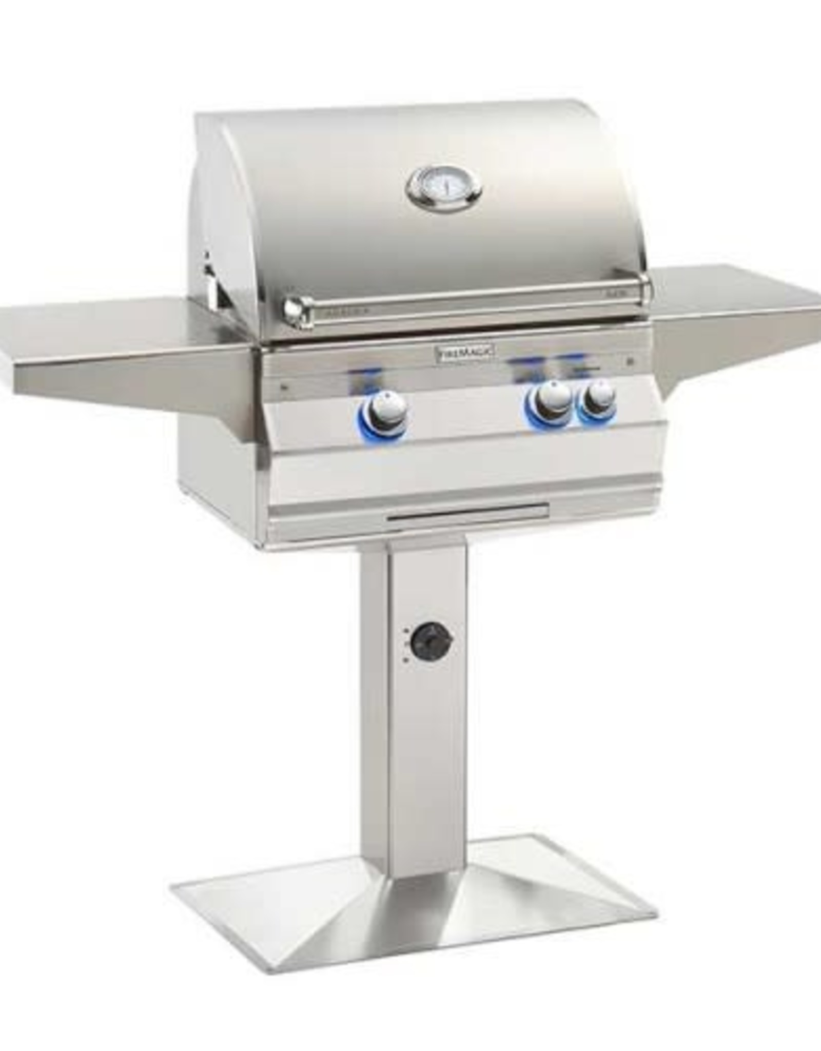 Fire Magic Fire Magic - Aurora A430s 24-inch Patio Post Mount Grill Without Rotisserie