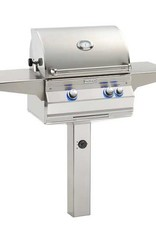 Fire Magic Fire Magic - Aurora A430s 24-inch In Ground Post Mount Grill With Rotisserie