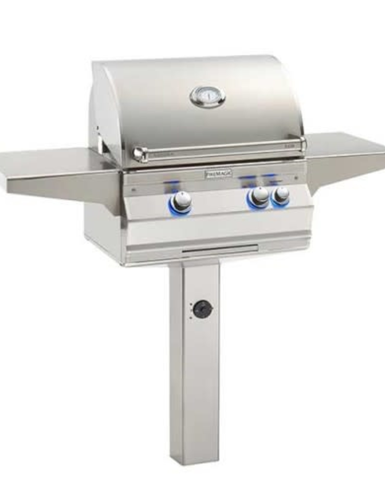 Fire Magic Fire Magic - Aurora A430s 24-inch In Ground Post Mount Grill Without Rotisserie