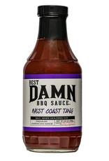 Best Damn BBQ Sauce Best Damn BBQ Sauce - West Coast Tang 20 oz