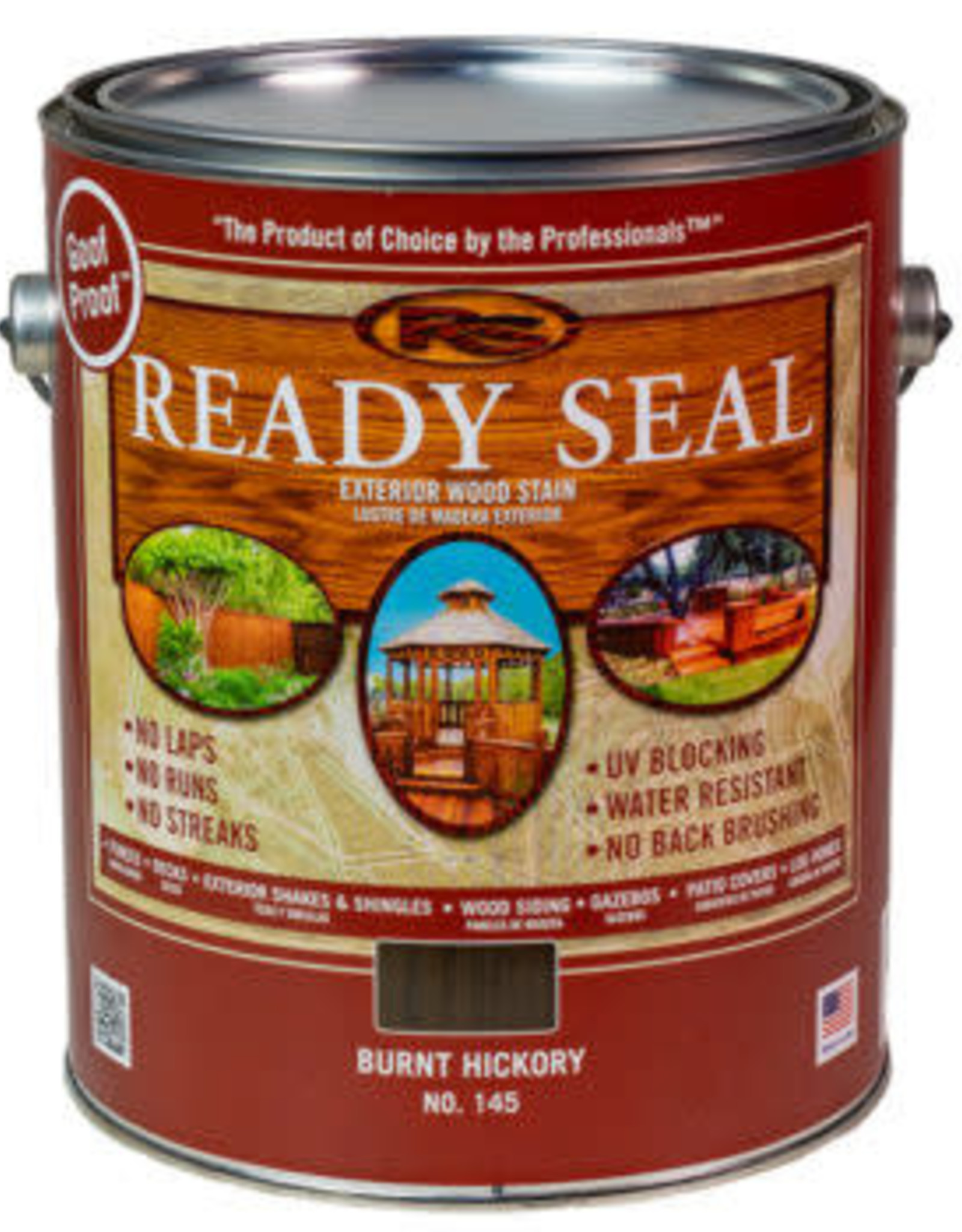 Ready Seal Ready Seal - 1 - Gallon - Burnt Hickory