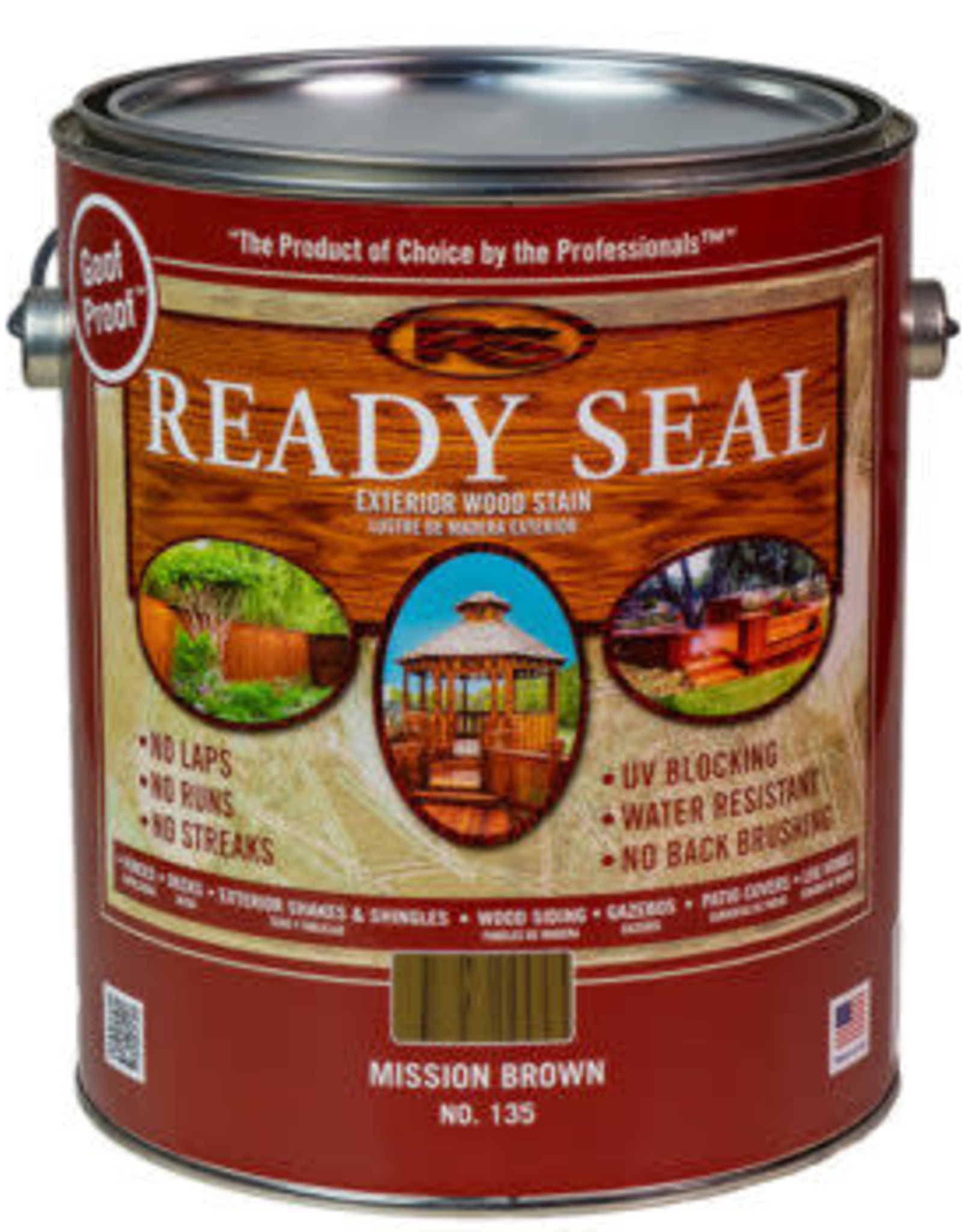 Ready Seal Ready Seal - 1 - Gallon - Mission Brown